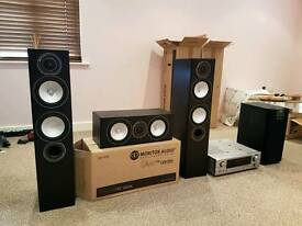 Sound system speakers amp Monitor Audio