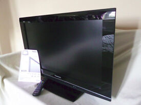 Panasonic Viera 32inch TV, Model: TX 32LXD80 with Remote Control and Operating Instructions