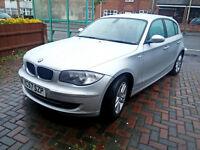 2007 BMW 1 Series 118D SE Efficient Dynamics START/STOP, £30 TAX , FULL LEATHER, FSH, 70 MPG, 5DR
