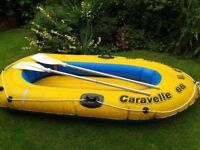 Caravelle 2 person rubber dinghy