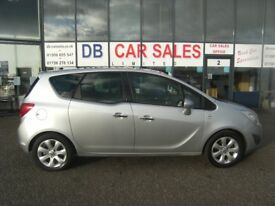 NEW SHAPE!! 2010 10 VAUXHALL MERIVA 1.4 SE 5d 119 BHP **** GUARANTEED FINANCE **** PART EX WELCOME
