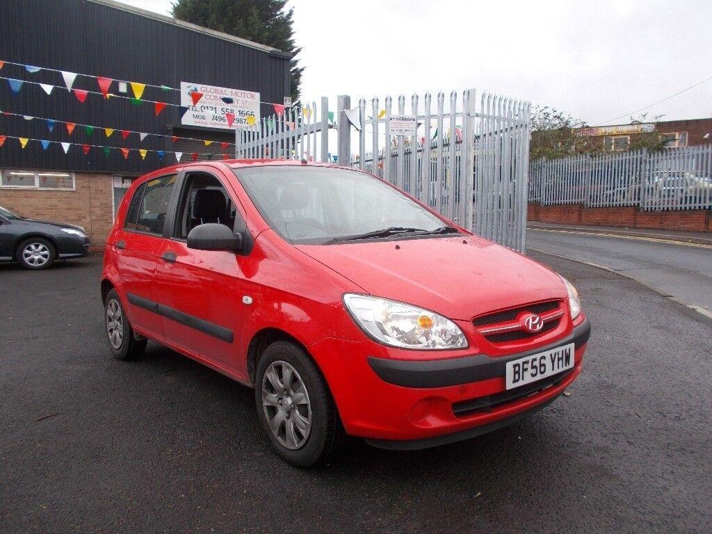 Hyundai Getz 1.5 CRTD 2007 GSi 5dr £30.00 road tax PX TO CLEAR SPARES OR