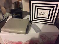 GENUINE LULU GUINNESS FOLDOVER FRAME PURSE