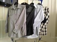 4 Boys Shirts. Jasper Conran, GAP and 2 Rebel age 12 to 13