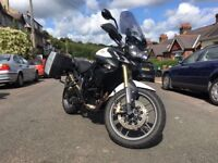 Lovely Example Of The Triumph Tiger 800 2011 Adventure Motorcycle