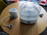 Bottle sterilizer, bottle warmer, Tommee Tippee