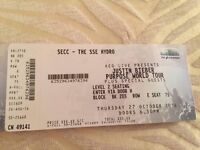 2 Justin Bieber VIP Thursday 27th opening night tickets, face value, £250 each
