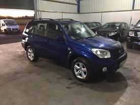 2004 Toyota RAV4 xt3 1998 vvti only 65,000 genuine miles 1 previous owner guaranteed cheapest