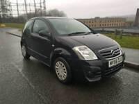 2008 Citeron C2 3 door 1.1 litre Black 58000 miles