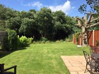 Stunning static caravan sited on a huge garden plot. Solent Breezes Holiday Park, Hampshire