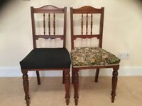 Pair of matching bedroom/dining room chairs no.1