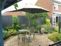 Large Rectangular Garden Umbrella