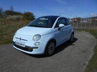 FIAT 500 POPULAR HATCHBACK BRILLIANT WHITE 2010 ONLY £30 ROAD TAX BARGAIN £2150 *LOOK* PX/DELIVERY