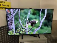 49'' SONY BRAVIA SMART 4K HDR LED TV. BUILT CAMERA KD-49X8505B. VERY THIN LINE ON SCREEN.