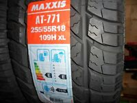255x55x18 maxxis a/t 771 4x4 tyres