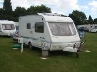 Swift Adventurer 480 2 berth touring caravan.Everything Hitch Up and Go