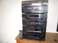 KENWOOD STACKING STEREO SYSTEM
