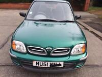 Nissan micra 2001 for sale low milage