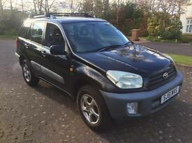 Toyota RAV4 2ltr estate 51reg new shape