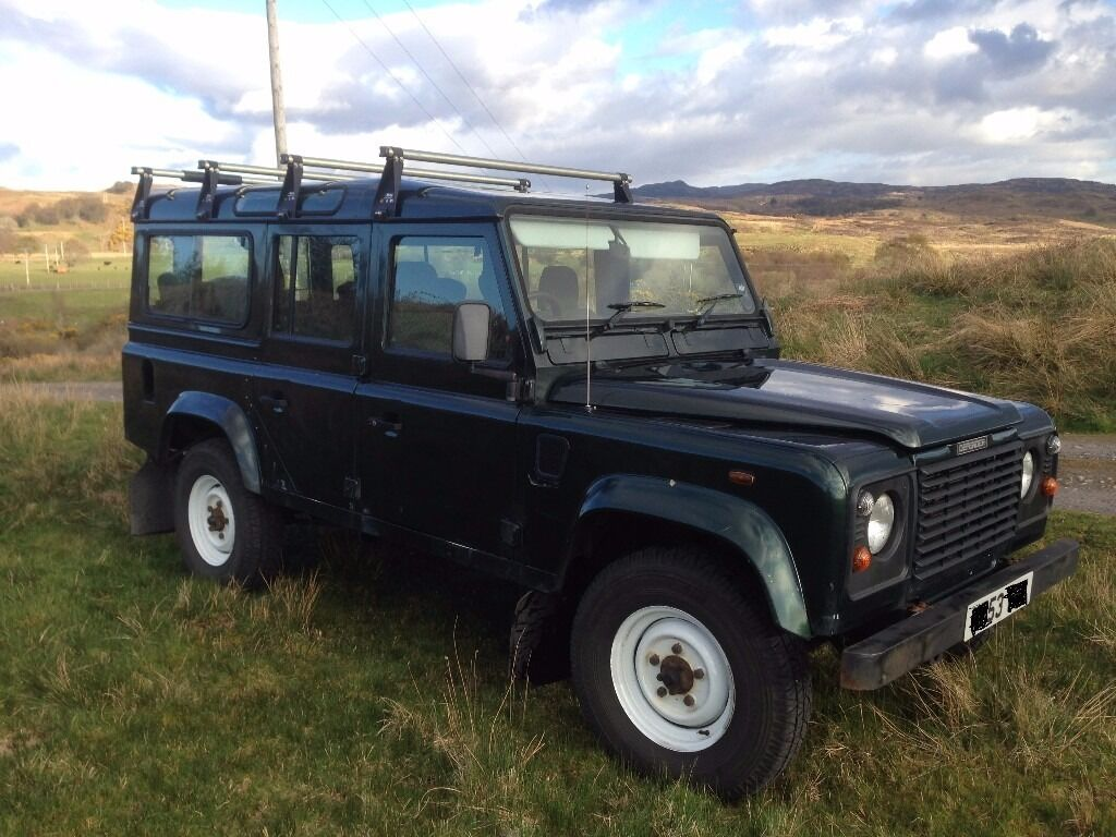 Land Rover Defender 110 Td5 Csw 2003 Epsom Green In