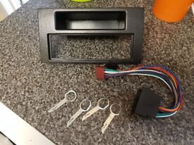 Mk2 focus single din radio facia