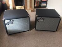 Aguilar DB112 and DB112NT with padded covers