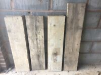 7 MIXED LENGTH SCAFFOLD BOARDS