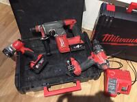 Milwaukee fuel sds and combi drill