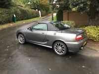 MG TF Spark 135 Convertible + hard top - special edition - very low mileage - may part exchange