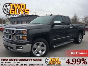 2015 Chevrolet Silverado 1500 LTZ 4X4 LEATHER CHROME 5.3L V8 LOA