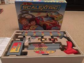 My first scalextric, kids slot car racing set