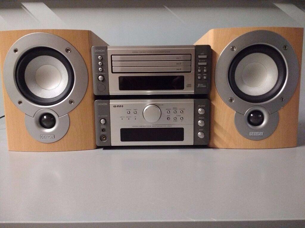 HI-FI Sistem Receiver Denon UDRA-M7 2X40 watts channel + 3CD Changer UDCM-M7 + Speakers Denon SCM51