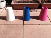 **BARGAIN**3 MULTI-COLOURED IKEA VASES FOR £5**