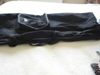 Black,Pro-Action canvas sports bag,4ft wide,ideal for golf or fishing equipment