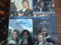 Original Poldark DVDs - series 1&2