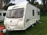 2008 Bailey pageant series 6 fixed bed