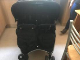 Double buggy side by side