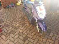 Selling my moped as no use for it now any info just call me on 07541117463 thanks