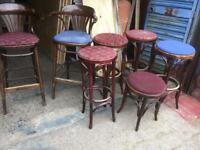 Bar pub man cave stools high
