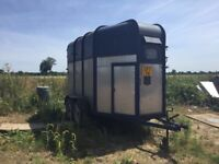 Horse trailer with new floor