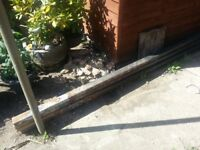 Metal Posts For Carport Swing etc four off