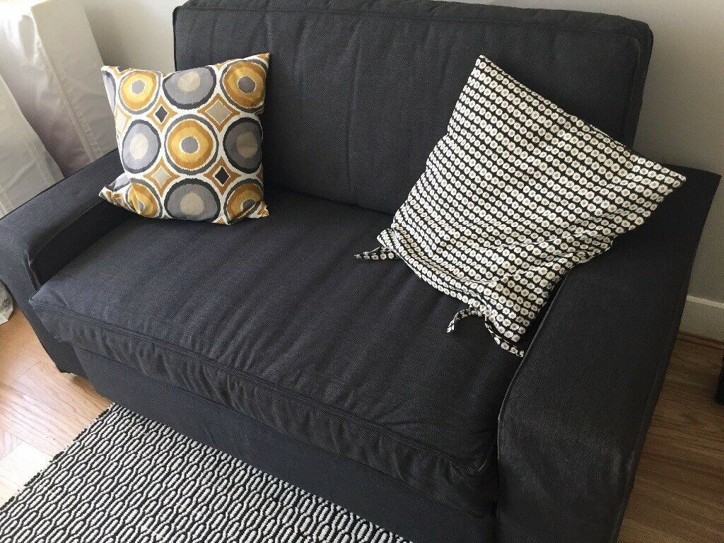 Sofa Bed Ikea Dark Grey Pull Out Type In Wimbledon London