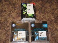 HP Original Cartridges - 350 x 2 + 351 x 2