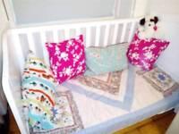Mothercare Addington White Cot bed in good condition