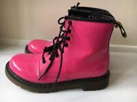 Dr martens girls boots uk1 eu33