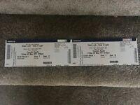 2 x Sean Lock Tickets - TOMORROW NIGHT