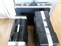 flight cases x 3
