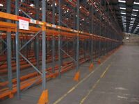 JOBLOT dexion industrial pallet racking 6m high ( storage , shelving )