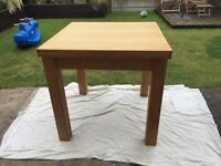 Square to Rectangle Dining Table
