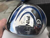 Ping G5 18 degree driver graphite shaft